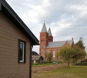 Дом на берегу озера Иказнь в 15 км от г. Браслав