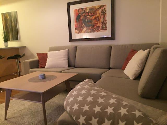 Fin, praktisk og koselig leilighet midt i sentrum. - Bodo - Byt