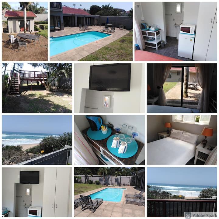 Unit in Margate with private entry to beach