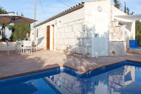 Small cottage with pool in Biniaco - Muro - Loft