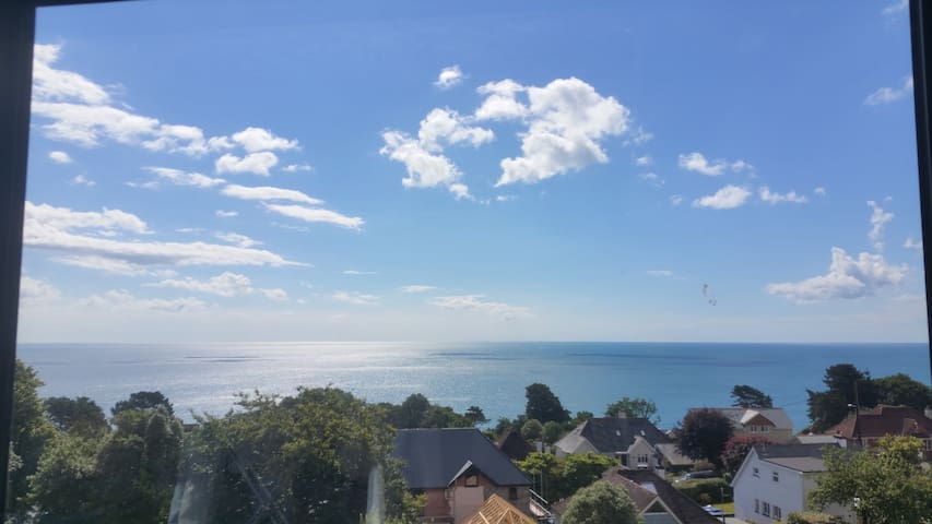 Art Deco house, light, with fantastic sea views - Teignmouth - Casa