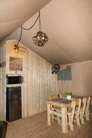 Luxury Glamping Tent Smoky Mountains