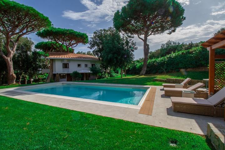 Villaflair - Villa Rotonda Punta Ala