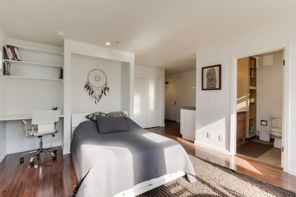 Cozy sf studio in soma appartements en r sidence louer - Residence inversee studios architecture en californie ...