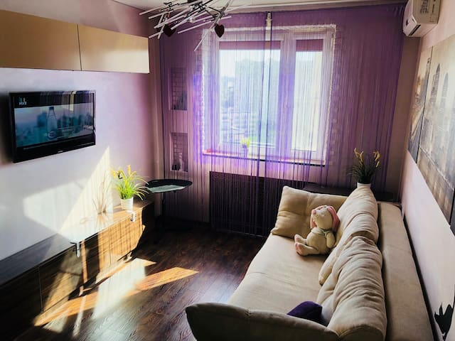 Cozy apartment of 54 m2 near Moscow