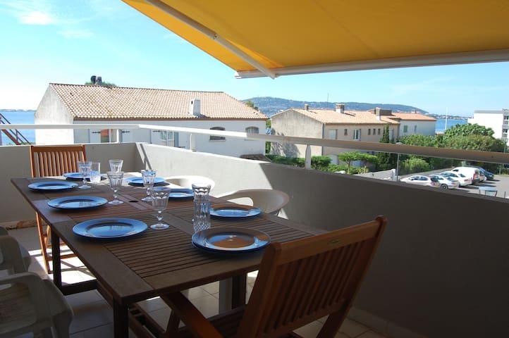 Duplex-terrasse, 2e ligne, wifi, Balaruc les Bains