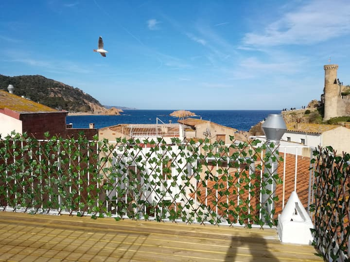 Tossa Apartment-100m from Beach & 50m to Castle-2F