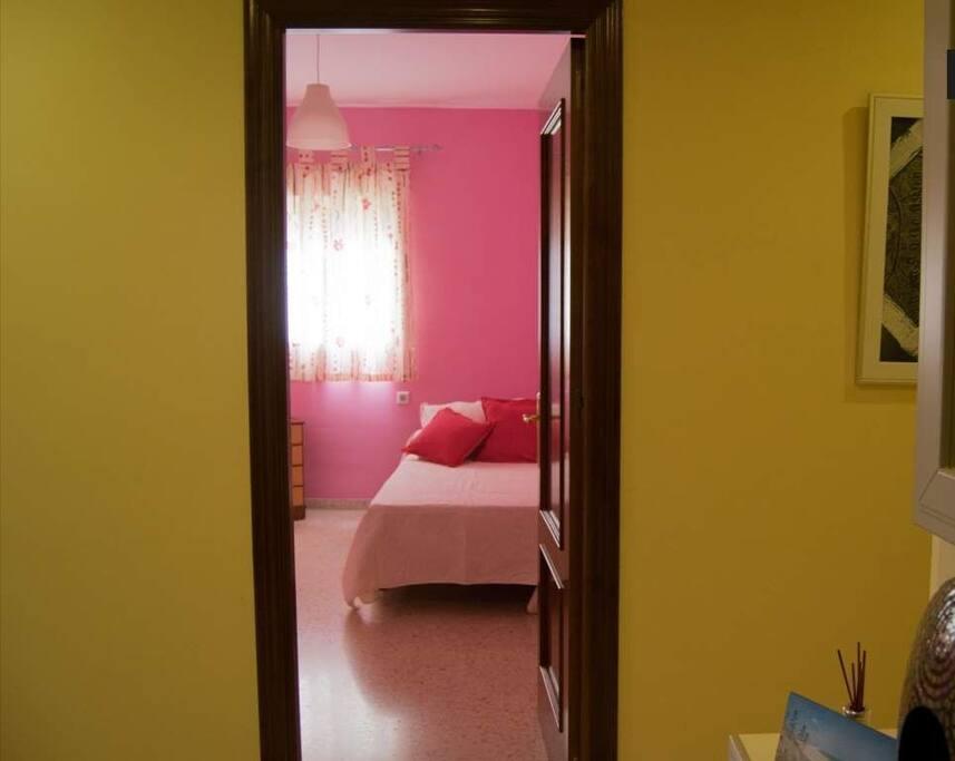 Dormitorio desde la entrada