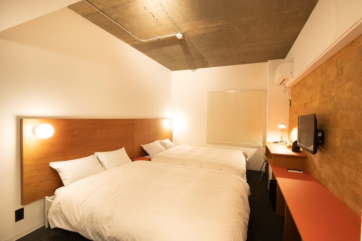 Earthmans apt 205/3mins walk from Shinsaibashi EMA