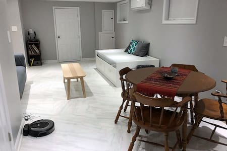 Ale's private basement apartment w/kitchen in DC