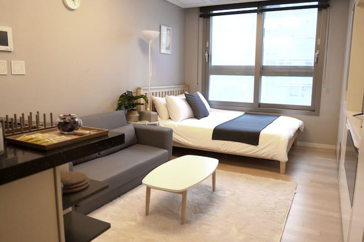 [J1 Studio #1] 잠실역/수서역/문정역/가락시장역-Seoul cozy house