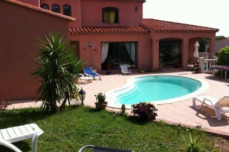 villa sur les hauteurs de collioure - Collioure
