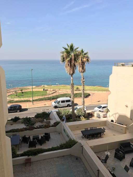 Seaview from Apartment