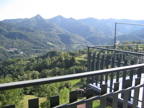 La terrazza sui monti - Mura (Brescia)