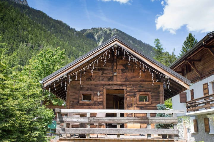 Mazot with incredible mountain views! - Chamonix-Mont-Blanc - Chalet