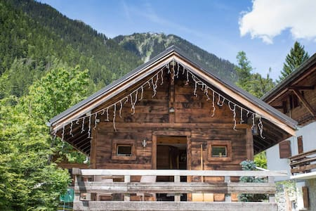Mazot with incredible mountain views! - Chamonix-Mont-Blanc - Cabin