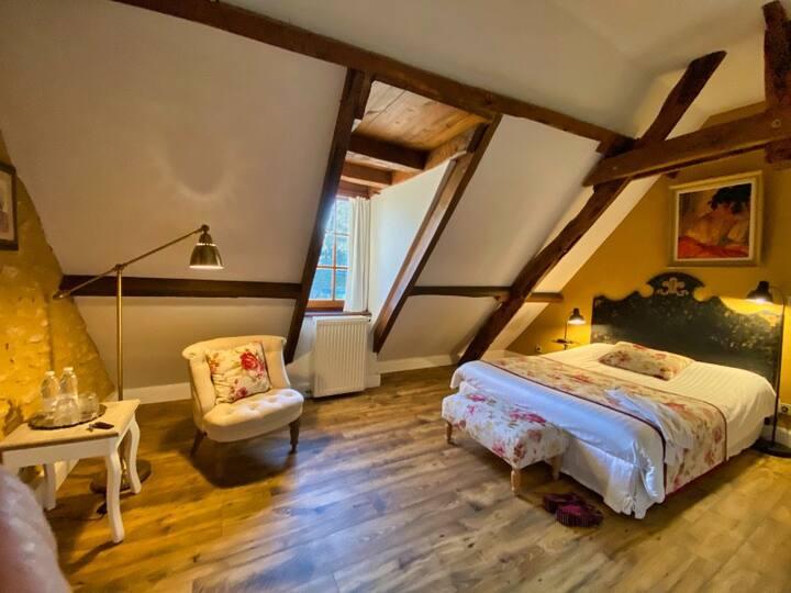 Sarlat Chambre en suite 2/4 pers Parc/Piscine