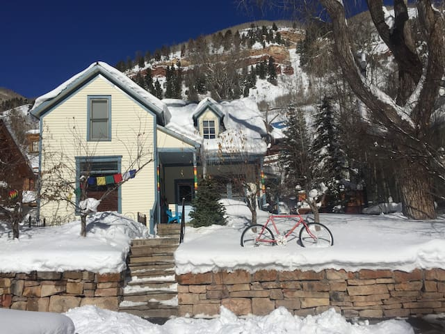 Blue House: Gather Friends and Fam - Telluride - House