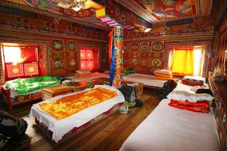 来Drolma and Gayla's guesthouse,过一天本土藏民生活(塔公广场) - Ganzi Zangzuzizhizhou