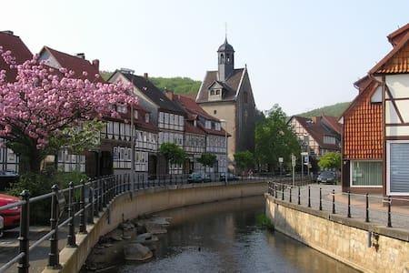 Haus Bellevue-Kurstadt Bad Salzd. - Bad Salzdetfurth - Bed & Breakfast