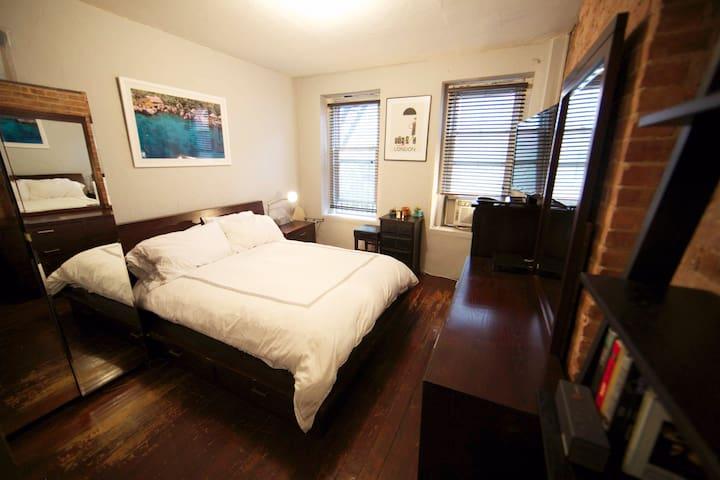 Casa Nolita: Clean & Charming Loft Apt in SoHo NYC