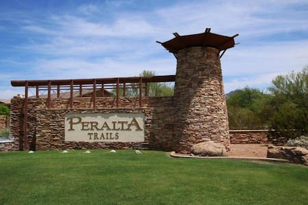 Peralta Trails Gated Community in Gold Canyon, AZ