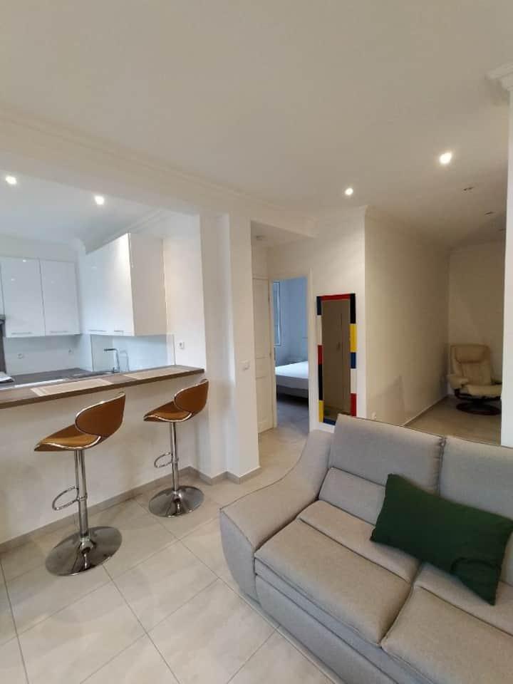 Appartement  moderne 3 pièces ; Roquebiliere