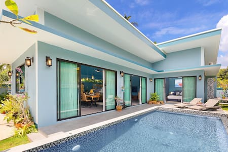 "Samui Sanctuary. 3 bedroom pool villa "" Kluay Mai"""