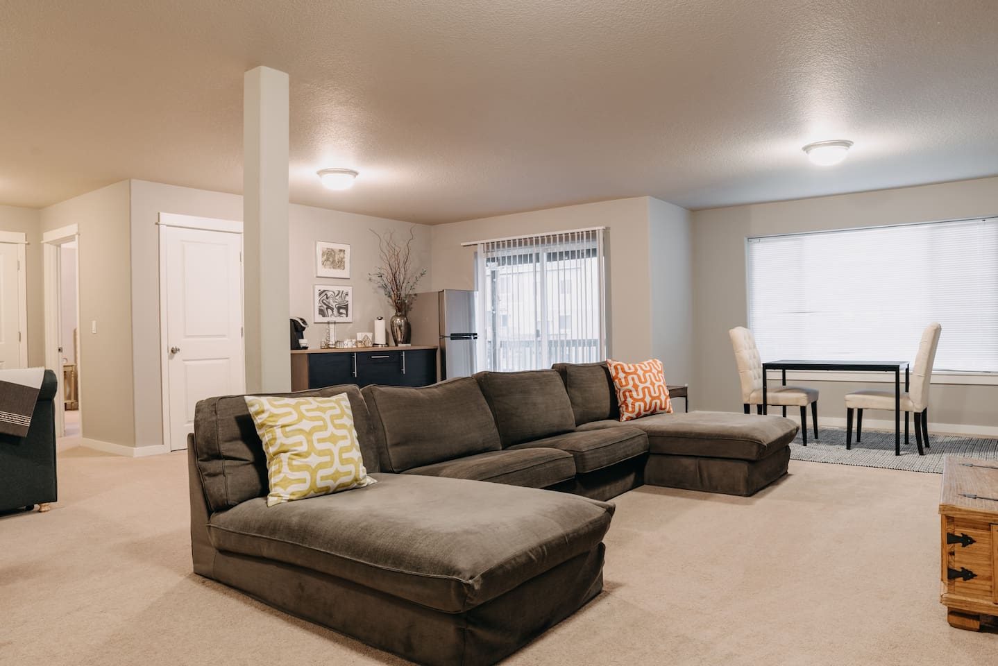 Full basement apartment with separate entrance.