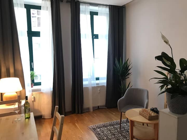 Modern 2-room apartment at Hasselbachplatz