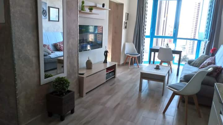 """Apartment Toñi & Manuel. """"Edificio Entrecalas"""""""