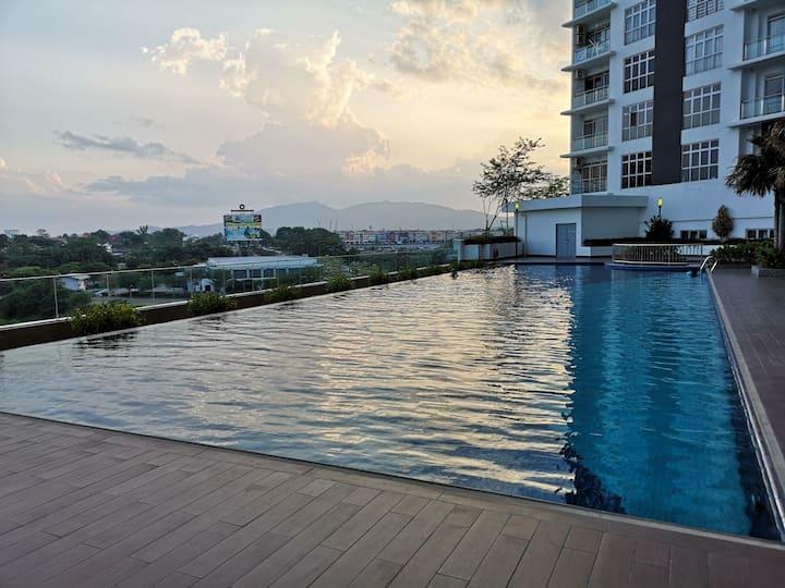 D'Putra Suites@ Near Senai Airport/ JPO/ Legoland
