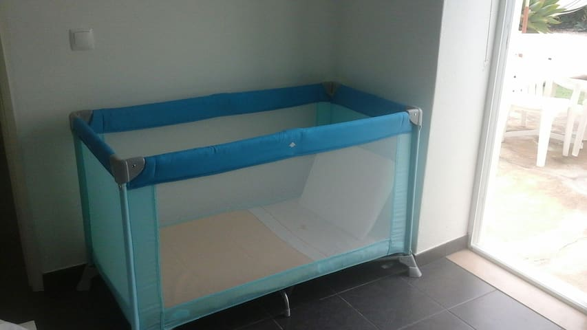 Baby bed, baby high chair, baby bath and a changing table can also be provided at your request.