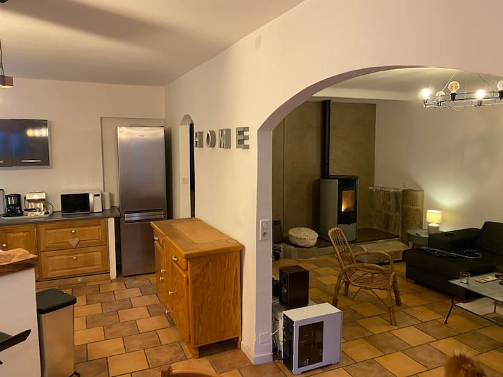 Maison 140 m2 centre Corses entre mer et montagne