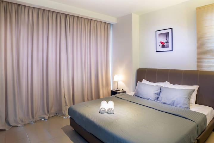 Cozy 1 Bedroom Apartment on Bukit Bintang #FL09