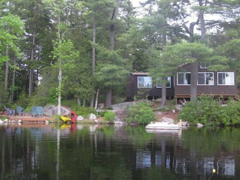 Peaceful Branch Lake Cabin minutes to Acadia