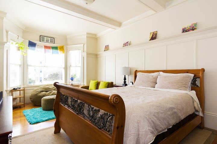 Centrally located bright studio apt - San Francisco - Appartement