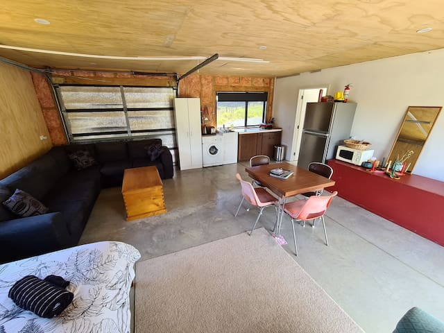 Main living area with kitchenette