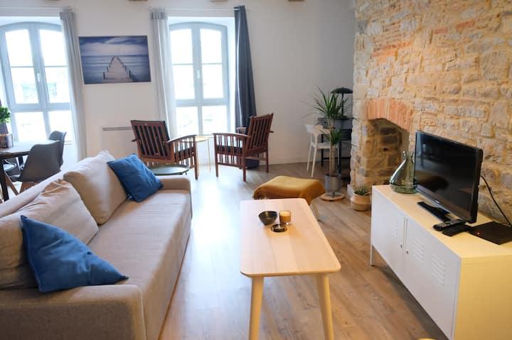 Appartement avec vue sur le port de Vannes (54m2)