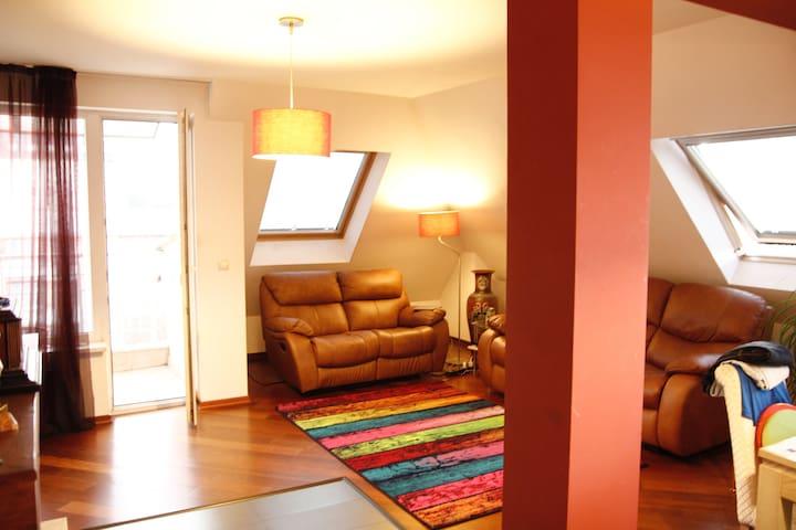 Cozy room | private bathroom| Center