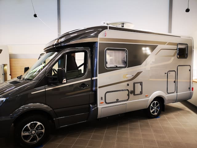 MERECEDES/HYMER 570 FULL EQUIPMENT 2019 B-Licens