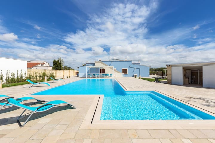 673 Villa with Pool in Ruffano Gallipoli