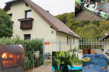 Thüringer-Wald-Haus mit Flusszugang und Garten