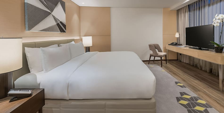 Modern Style Deluxe Room