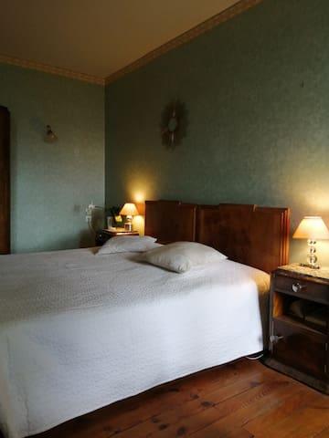 La chambre Terre, version grand lit double