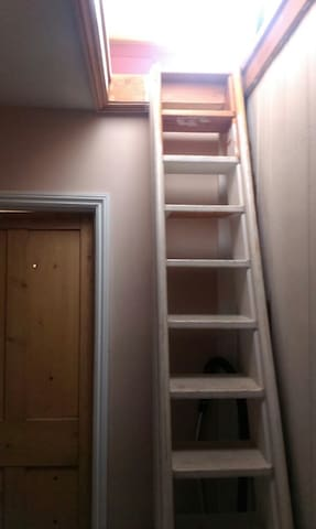 The way up into your room!