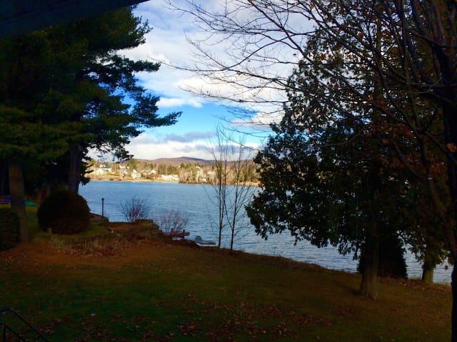 Chalet bord de lac - Saint-Jean-de-Matha - House