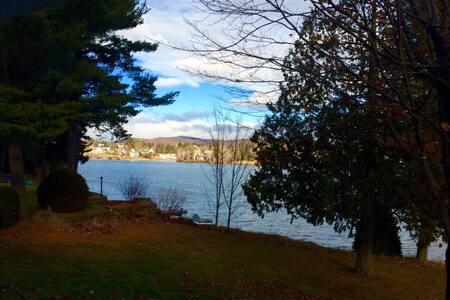 Chalet bord de lac - Saint-Jean-de-Matha - Huis