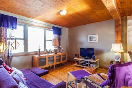 Grand appartement avec jardin - Montréal - Lejlighed