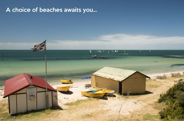 Sea Escape, Beach $299 10 guests - Indented Head - Ház